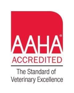 Logo AAHA accredited Island Vet Clinic Richmond